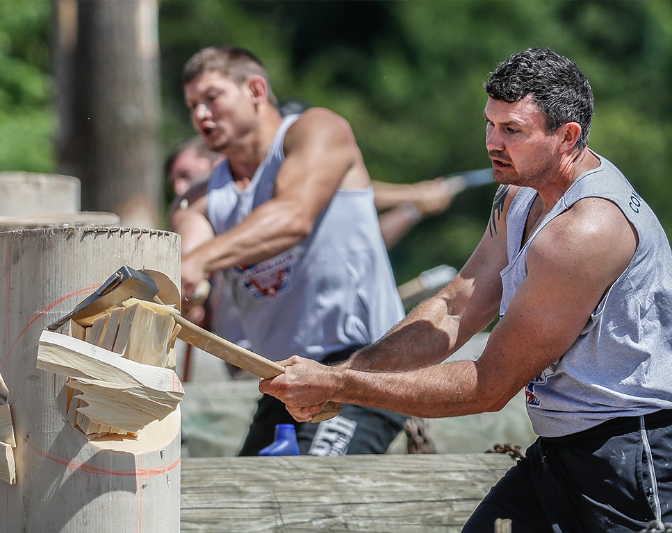 Chopping - Lumberjack World Championships