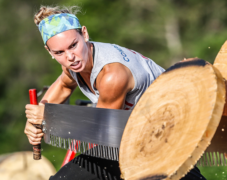 Sawing - Lumberjack World Championships
